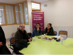 Compte rendu de la table ronde avec l'association Parents Professeurs Ensemble