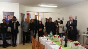 Fidèle soutien de Coparenf, M. Jean-Pierre Rosenczveig,  ancien président du Tribunal pour enfants de Bobigny (à droite).